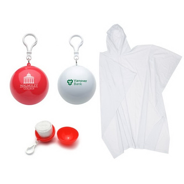 Portable Disposable Ball Raincoat