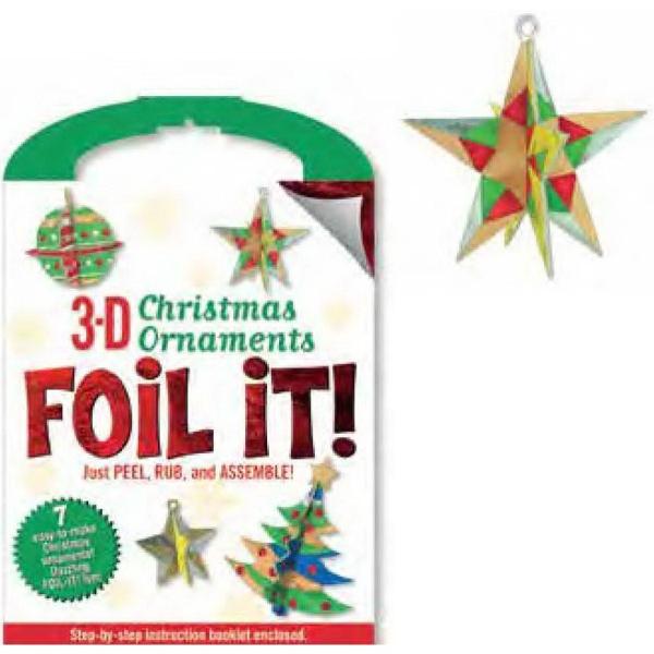 3-D Christmas Ornaments Foil It!™ Activity Kit