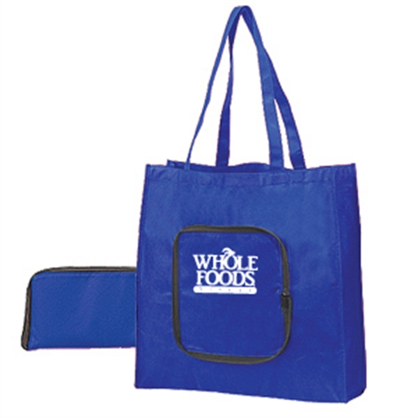 ZIPPER FOLDABLE TOTE-IMP