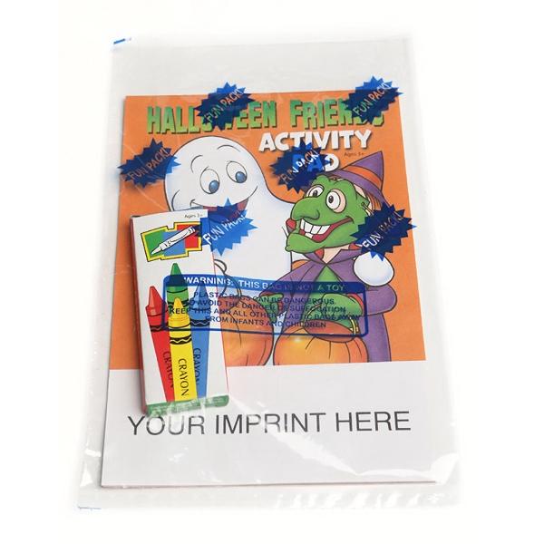 Halloween Friends Activity Pad Fun Pack