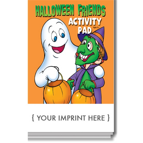 Halloween Friends Activity Pad