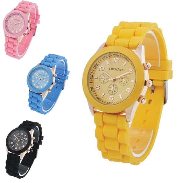 Personalized Silicone Quartz Watch