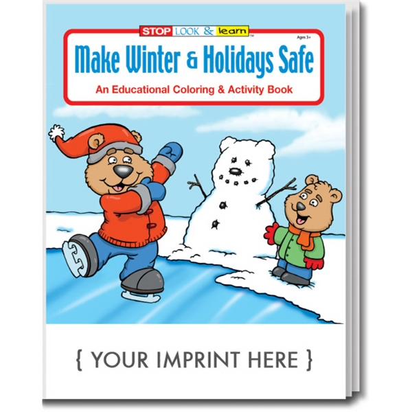 Make Winter & Holidays Safe Coloring and Activity Book