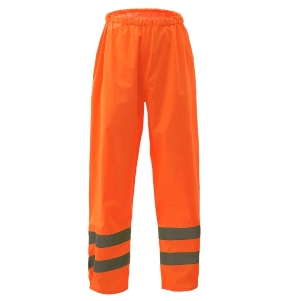 Class E Safety Rain Pants - Orange