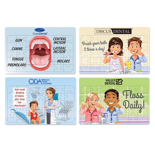 Assorted Dental Jigsaw Puzzles