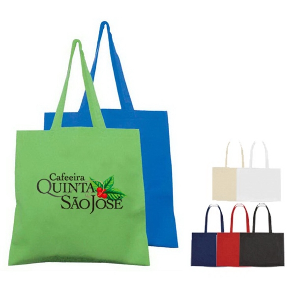 Large Heat Sealed Non Woven Shopping Tote