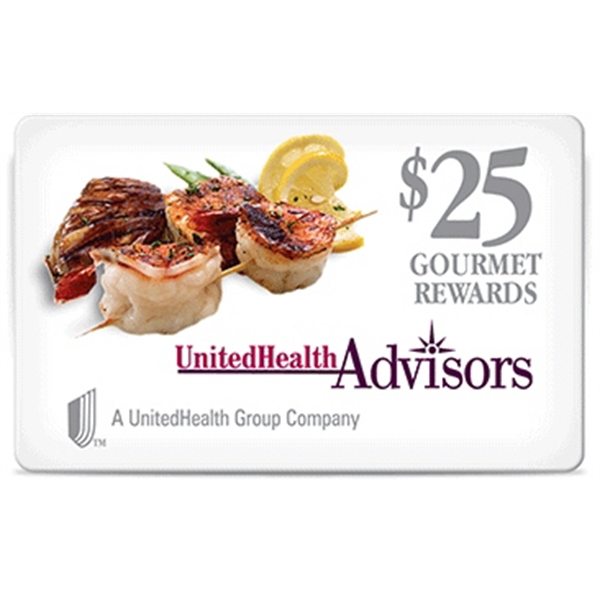 $25 Dining Reward Card