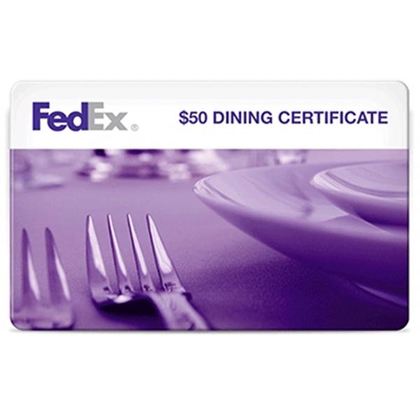 $50 Dining Reward Card