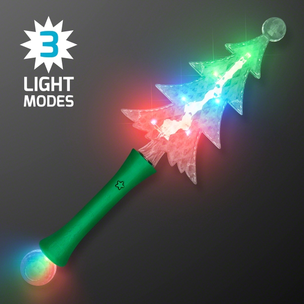 Light Up Christmas Tree Crystal Wand