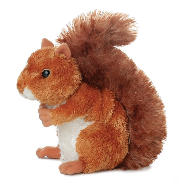 "8"" Nutsie Squirrel - Brown"