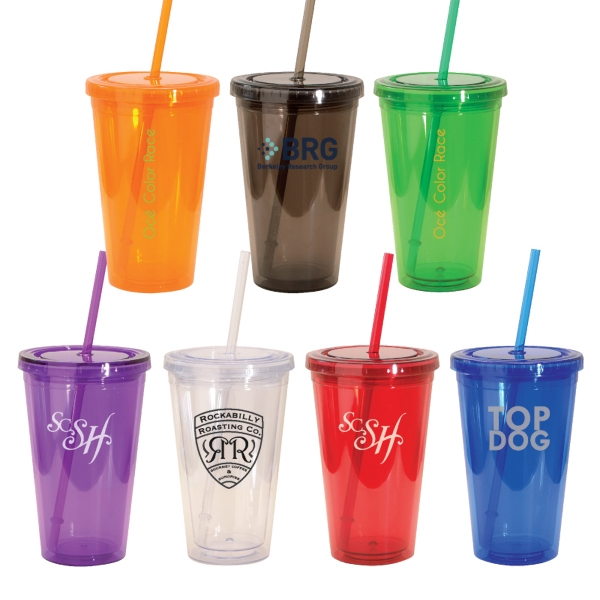 16 oz. Double Walled Acrylic Tumbler