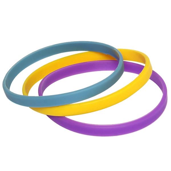 Custom Slim Blank Bracelets