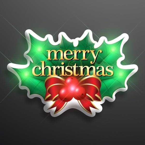LED Merry Christmas Flashing  Lights