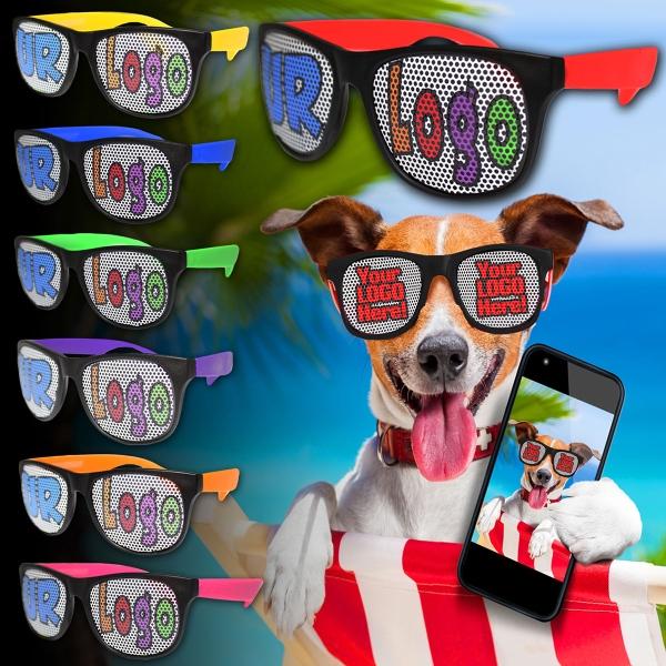 Custom Neon Billboard Sunglasses