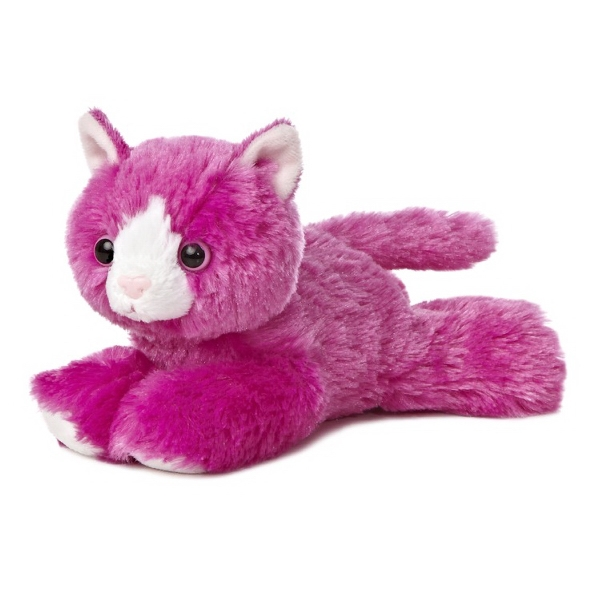 "8"" Pink Kutie Kitty Cat"