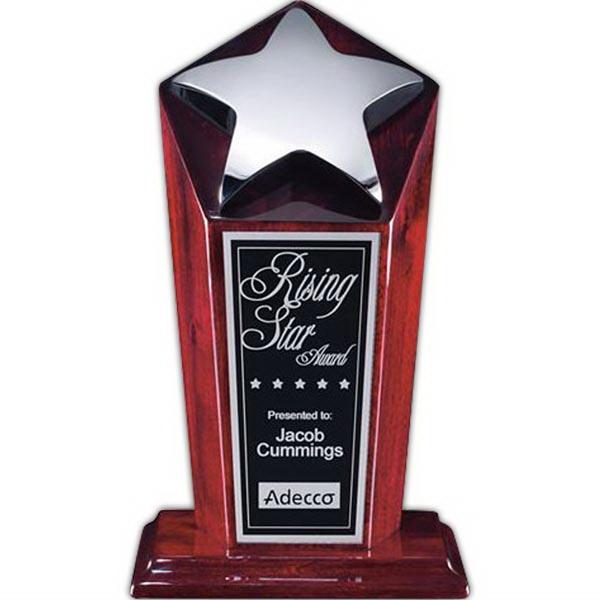 "Strickland Award - Rosewood/Chrome 9"""