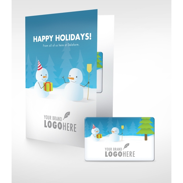 Holiday Digital Movie Rental Card