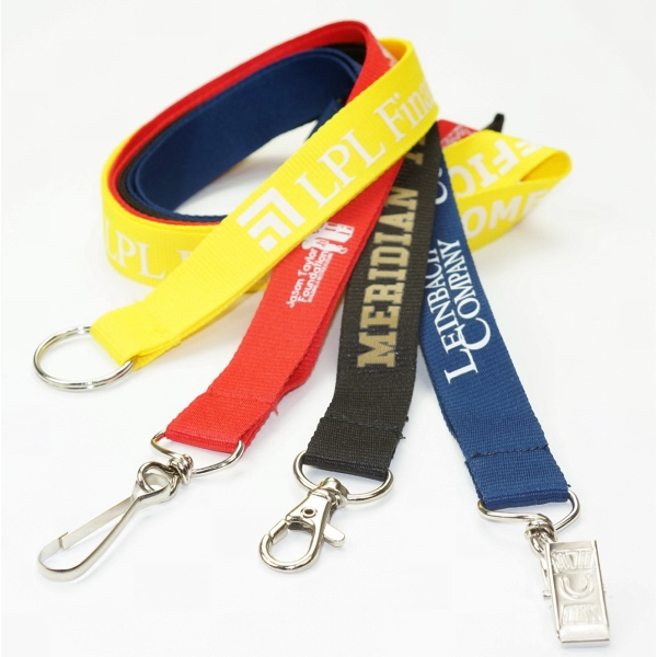 Low Minimum Polyester Lanyards