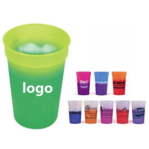 Plastic Color Changing Cup