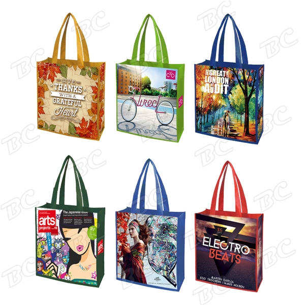 Color Trim Dye Sub TOTE BAGS