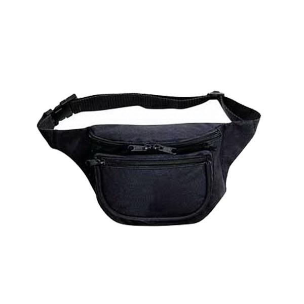 420D Nylon Three Pocket Polyester Fanny Pack