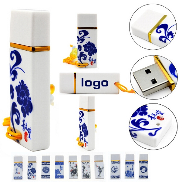 Chinese Ceramic USB Drive