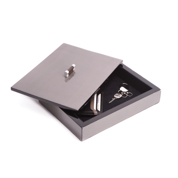 Valet Tray with Lid - Valet Tray with lid