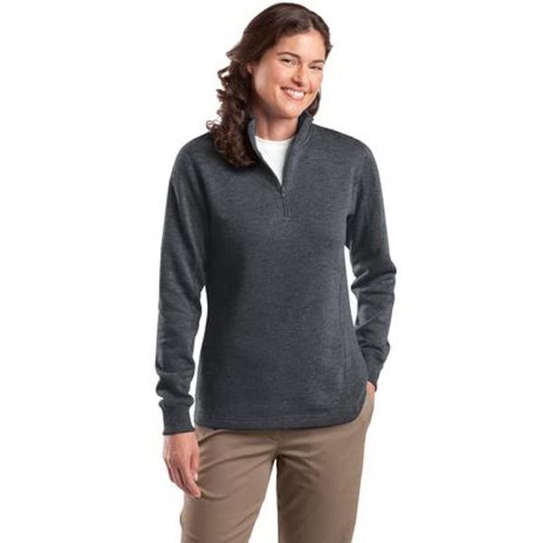 Sport-Tek Ladies 1/4-Zip Sweatshirt.