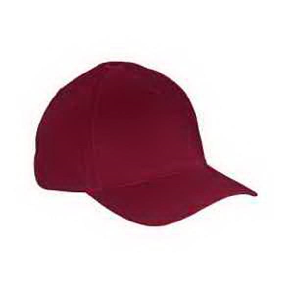 Big Accessories 5-Panel Brushed Twill Cap - 5-panel brushed twill cap. Structured. Front panel back with buckram. Self-fabric closure with brass buckle. Blank.