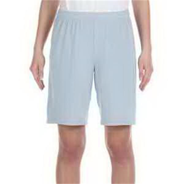 """Alo Sport for Team 365 (TM) Youth Mesh 9"""" Short - Youth mesh 9"""" short. Dry wicking. Anti-microbial. Tear-away label. No pockets."""