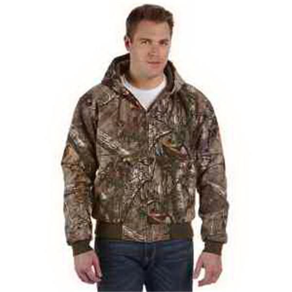 Dri Duck Tall Realtree (R) Xtra Cheyene Jacket - Camo work jacket - Tall. Heavy-duty metal zipper. Articulated elbows. Rib knit cuffs and waistband with spandex. Blank.