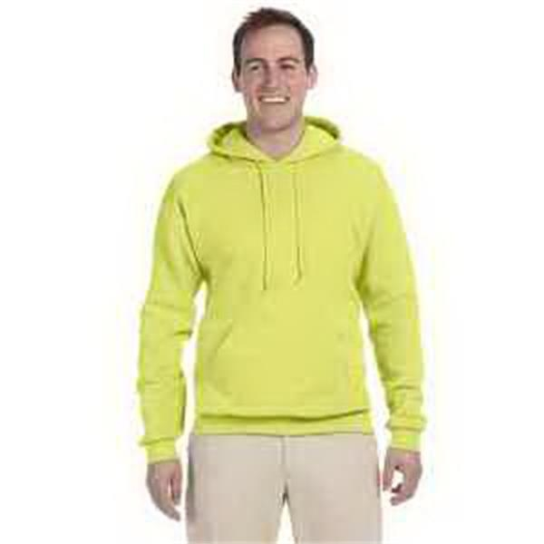 Jerzees (R) Tall 8 oz 50/50 NuBlend (R) Fleece Pullover Hood - Tall 8 oz fleece pullover hood. Blank.