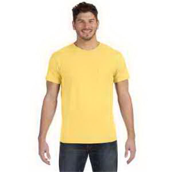 4.5 oz., 100% Ringspun Cotton nano-T (R) T-Shirt with Pocket - 4.5 oz., 100% Ringspun Cotton nano-T (R) T-Shirt with Pocket