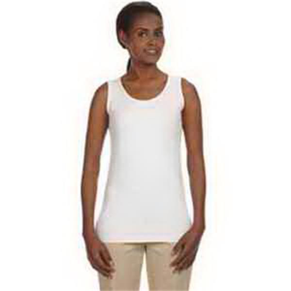 Econscious Ladies' 4.4 oz 100% Organic Cotton Tank Top - Ladies' 4.4 oz, 100% organic cotton tank top. Eco-friendly. Cotton/spandex rib neck and armholes. Blank.