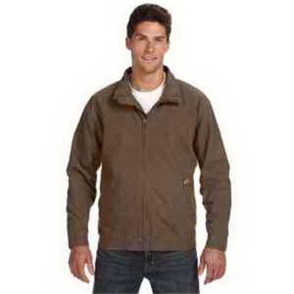 Dri Duck Maverick Jacket - Work jacket. Soft blanket lining. Inside pockets. Adjustable tab waistband. Heavy-duty metal zipper. Blank.