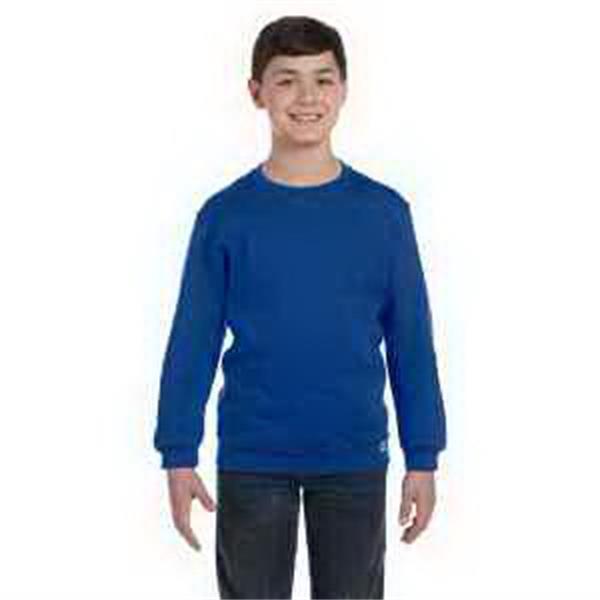 Russell Athletic Youth Dri-Power (R) Fleece Crew - Youth fleece crew sweatshirt.