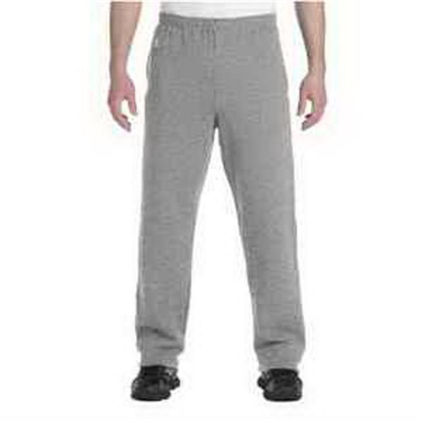 Russell Athletic Dri-Power Open Bottom Fleece Pocket Pant - Open bottom fleece pocket pants.