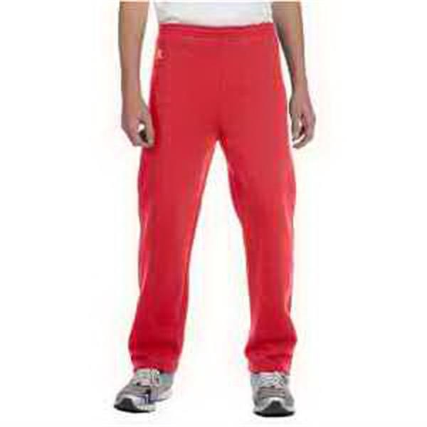 Russell Athletic Youth Dri-Power (R) Open Bottom Fleece Pant - Youth open bottom fleece pocket pants.
