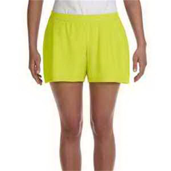 Alo Sport for Team 365 (TM) Ladies' Performance Short - Ladies' performance short with yoke seam on rear.
