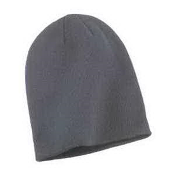 Big Accessories Slouch Beanie - Slouch beanie. 100% acrylic knit. Single layer. 6-seam construction. Blank.