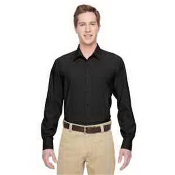 Harriton Men's Paradise Long-Sleeve Performance Shirt - Men's Paradise Long-Sleeve Performance Shirt