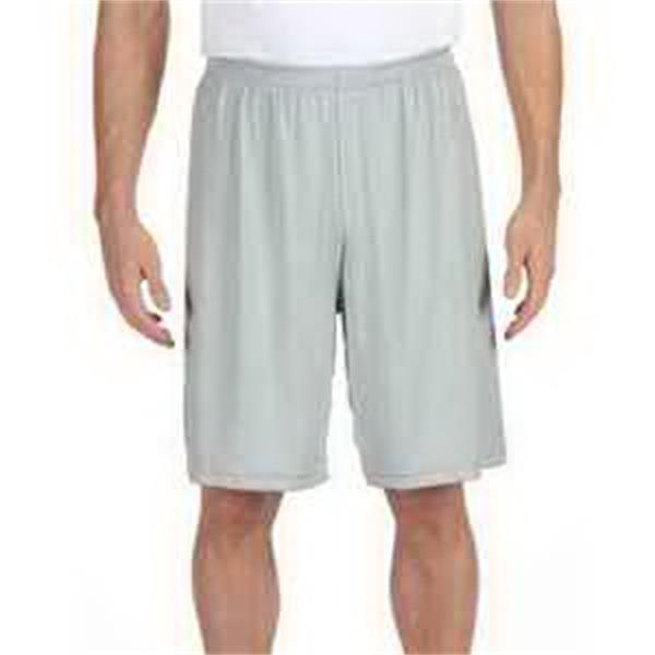 """Alo Sport for Team 365 (TM) Men's Performance 9"""" Short - Men's dry-wicking performance 9"""" short with tear-away label."""