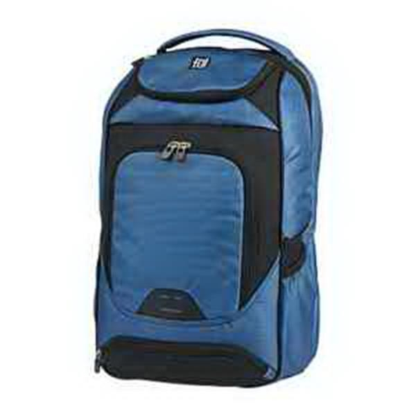 ful (R) CoreTech Live Wire Backpack - Backpack. Padded laptop compartment. Tablet sleeve with padding. Shoulder strap media organizer. Blank.