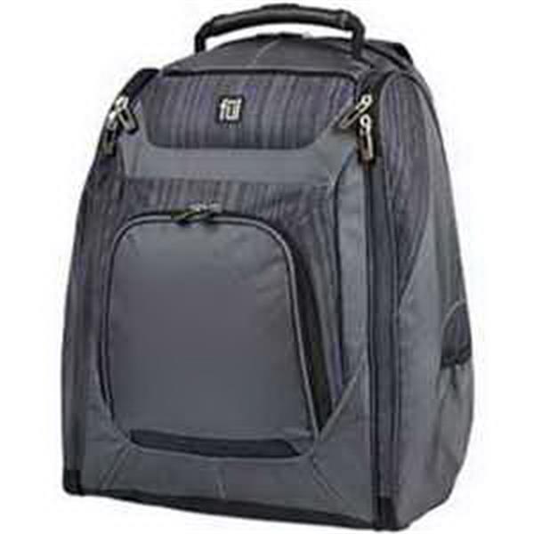 ful (R) CoreTech Sideffect Backpack - Backpack. Padded laptop sleeve. Padded tablet sleeve. Shoulder strap media organizer. Blank.