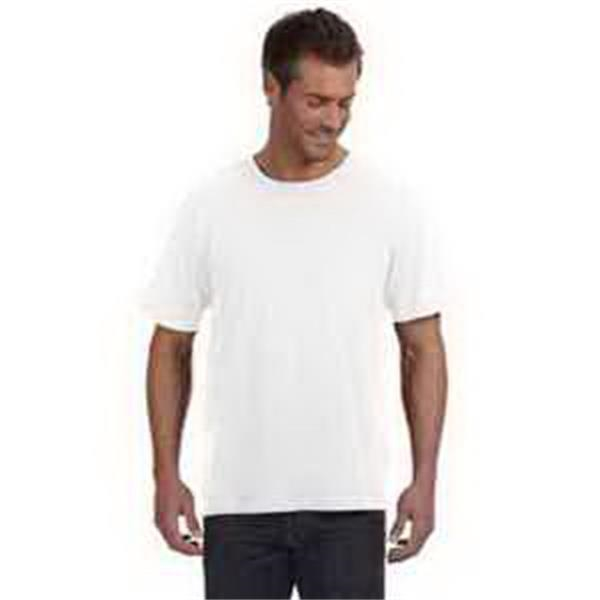 LAT Fine Jersey Pocket T-Shirt - Fine jersey pocket T-shirt. Ribbed collar. Double-needle hemmed sleeves and bottom. Blank.
