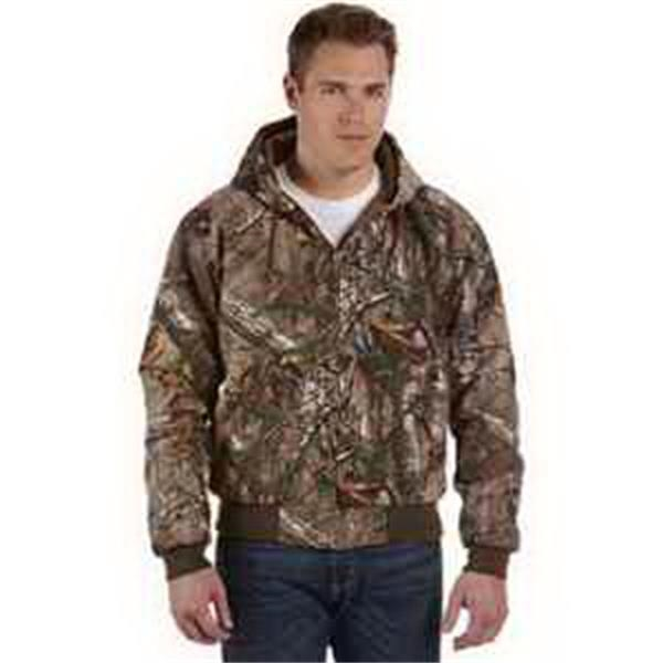 Dri Duck Realtree (R) Xtra Cheyene Jacket - Camo work jacket. Heavy-duty metal zipper. Articulated elbows. Rib knit cuffs and waistband with spandex. Blank.