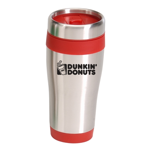 16oz. BARRETT STAINLESS STEEL TUMBLER