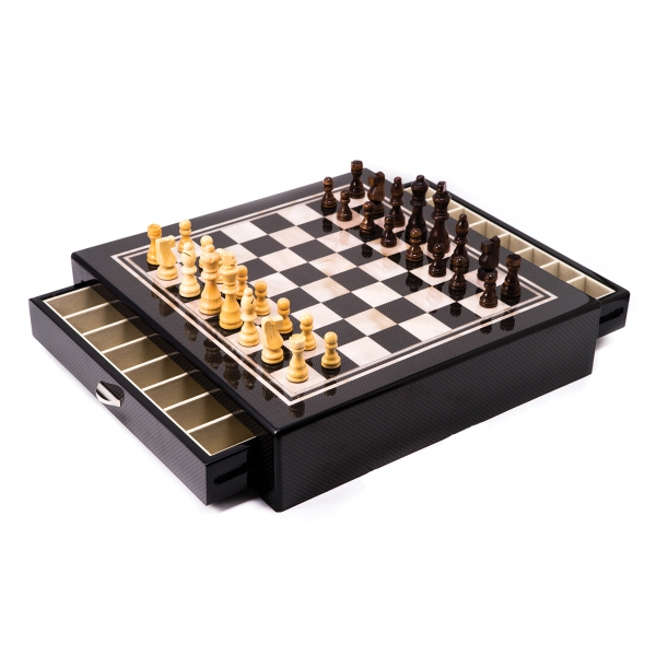 Chess Set - Chess set with drawers