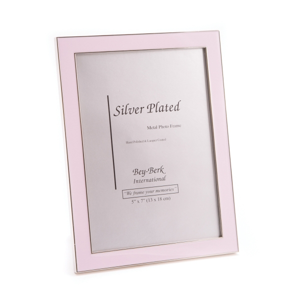 Picture Frame - Pink 5 x 7 picture frame