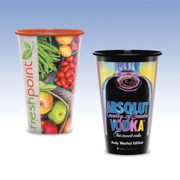 Tall 16oz-Reusable Clear Plastic Cups